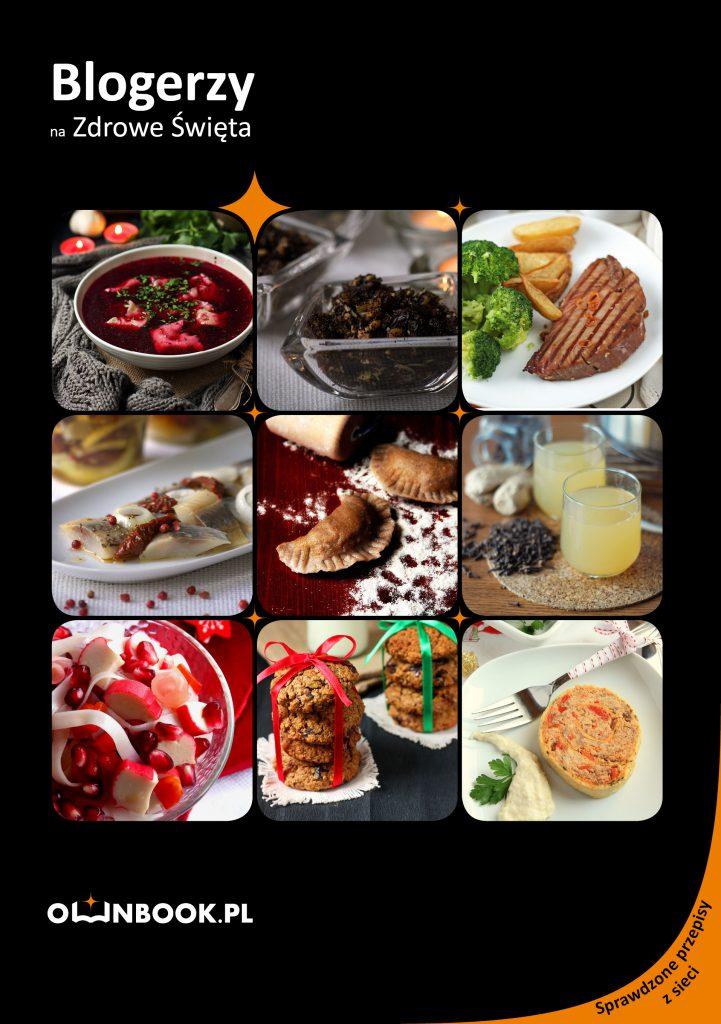 """książka """"Blogerzy na Zdrowe Święta"""" zawiera 5 przepisów Wolnej Kuchni"""